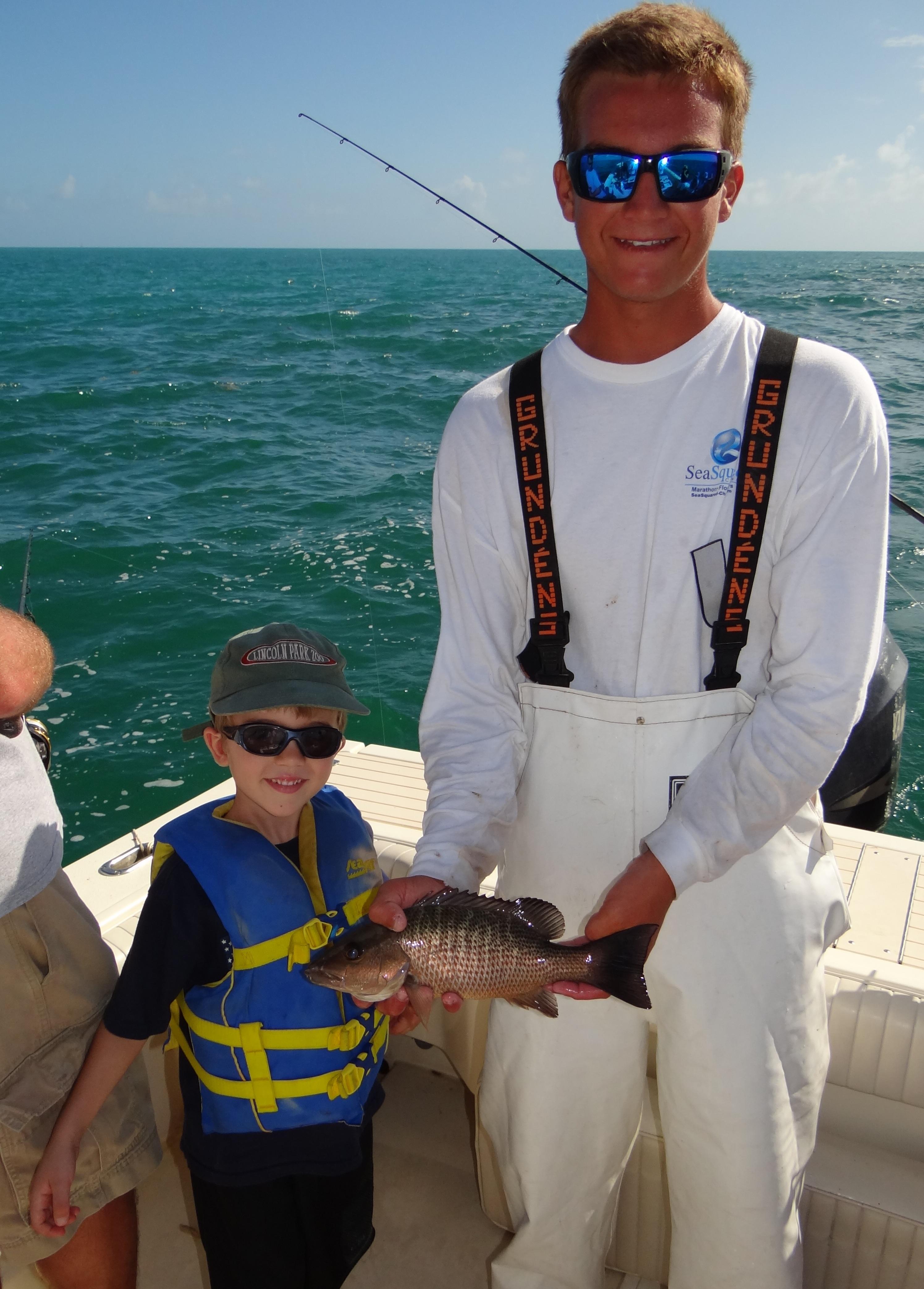 7 mile bridge seasquared charters for Florida keys bridge fishing
