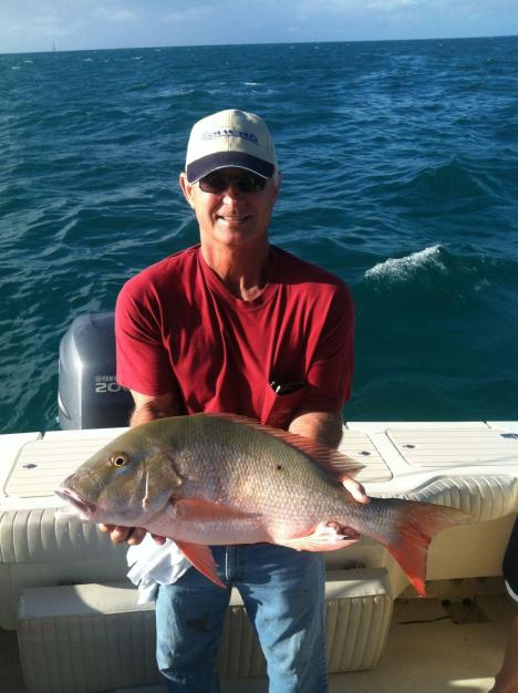 Marathon Florida Keys snapper fishing Capt. Chris Johnson SeaSquared Charters