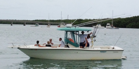 SeaSquared Charters boat Klimax with Capt. Chris Klimas